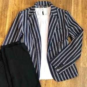 VINTAGE / 8.15 August Fifthteen Stripe Jacket